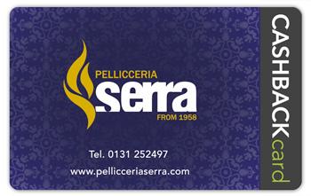 Pellicceria Serra Cashback card